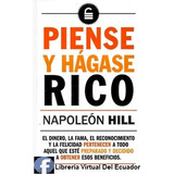Piense Y Hagase Rico De Napoleon Hill Libro En Oferta