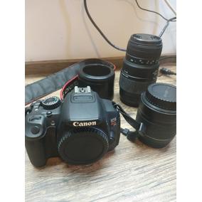 Camera Profissional Canon Eos Rebel T4i + Lente Efs 18-55mm
