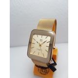 Reloj Yess Mujer Dorado Relojes Pulso - Relojes en Mercado Libre ... 04bc9d4b683c