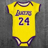 Body Bebe Lakers Infantil Nba Basketball Personalizado e02df6a0f