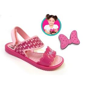 9e8c447dd Sandalia Minnie Fashion Maker 21366 - Grendene - Rosa/rosa