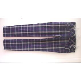 dd9bc59430a Calca Xadrez Importada Zara Lancamento - Calçados