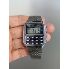 a3923e2e7ac Antigo Relogio Cassio Com Calculadora - Relógios no Mercado Livre Brasil