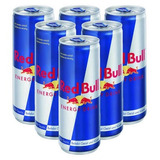 Atacado C/8 Energetico Red Bull 250ml (8 Latas)
