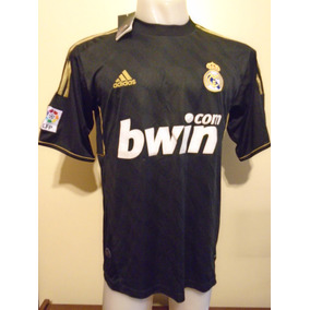 b84762980cd43 Camiseta Negra Del Real Madrid 2011 2012 Manga Larga - Camisetas en ...