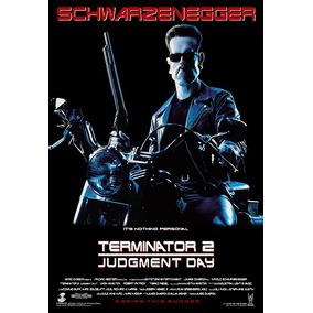 Cartaz Poster Decoração Exterminador Do Futuro 2 Filme 33x48