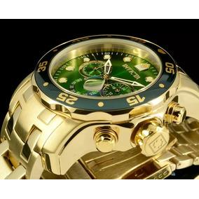 8dd5ddc52a0 Relógio Invicta Pro Diver 21925 0075 Banhado Ouro Original