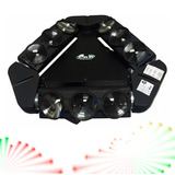 Gbr Luces Led Spider 9 Luces Movimiento Y Barrido 360 #6
