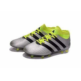 Chuteira Adidas Ace Prata - Chuteiras no Mercado Livre Brasil daaf7fb639916
