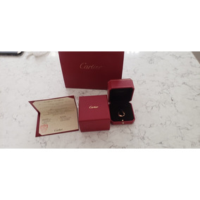 Anillo Cartier Love Oro Y Brillantes Cartier Tiffany Tous Ch