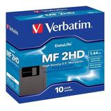 Diskettes Verbatim 3.5 1.44 Mb Caja Con 10 Piezas
