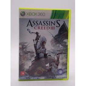 Assassins Creed 3 Xbox 360 Original Física Ler Descrição