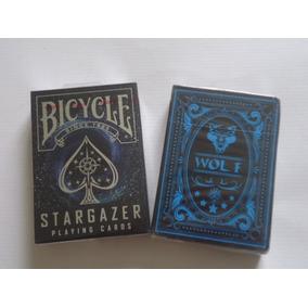 2 Baralhos = Bicycle Stargazer + Baralho Wolf Selados