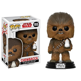 Funko Pop Chewbacca #195 - Star Wars The Last Jedi