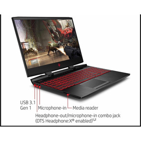 2018 - Notebook Gaming Hp Omen 17 - I7, 12gb, 1tb