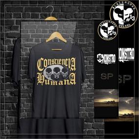 Bone Consciencia Humana - Camisetas e Blusas no Mercado Livre Brasil 9dcec4cac12