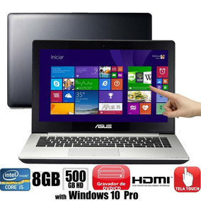 Notebook Asus S451la Intelcore I5 8gb 500gb Touchscreen