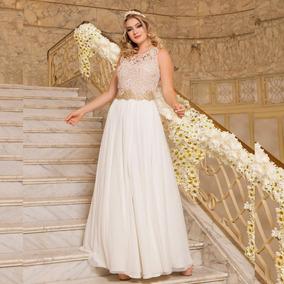Vestido Longo Renda Festa Debutante