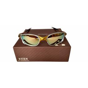 3f909efbc Oculos Double Xx 24k Dourada +lentes+borracha+chave+teste. R$ 125. 12x R$  10 sem juros