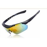 Oculos 5 Lentes Ciclismo Bike Masculino Feminino Uv 400