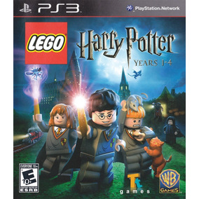 Jogo Lego Harry Potter Years 1-4 Ps3 Original Mídia Física