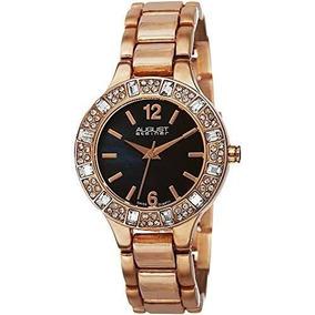 Reloj Mujer Swarovski De Pulsera Oro Rosa