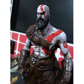 Kratos God Of War 4 Boneco Em Resina Crazy Figurine