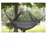Promoção Rede Com Mosquiteiro Acampamento Camuflada