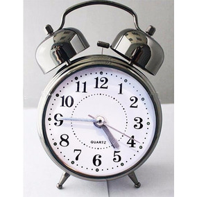 e2a7706d75e Relógio Despertador Cores Modelo Antigo 2 Sinos Muito Alto