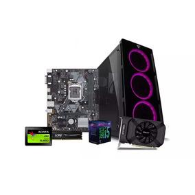 Computadora Pc Cpu Gamer I5 8gb Ssd 240gb Gtx 1050 Ti 80+
