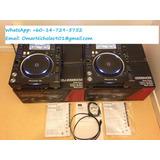 Pioneer Dj Cdj-2000 Nexus Set: 2x Cdj-2000 Nexus, 1x Djm-900