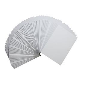 Golden State Art Paquete 50 Tableros Respaldo 5x7 Enmarcar E