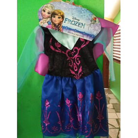 Disfraz Infantil Ana De Frozen Talla 5