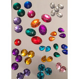 Oferta! 50 Piedras Grandes Para Coser. Varios Colores!!