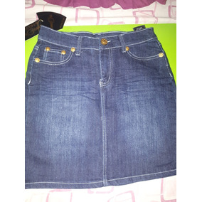 Falda De Blue Jeans Para Damas Oferta