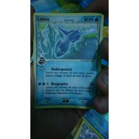 Latios Carta Pokémon Importada /rara