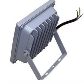 Kit 2 Refletor Led 10w Holofote Ip66 Super Branco Frio