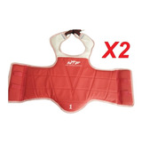 Pack 2 Pecheras De Taekwondo