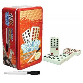 Domino Doble 12 Juego De Mesa Domino 91 Pzas Pasta