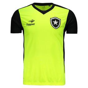 Camisa Topper Botafogo Treino 2016 Amarela 551d4d7ed26bb