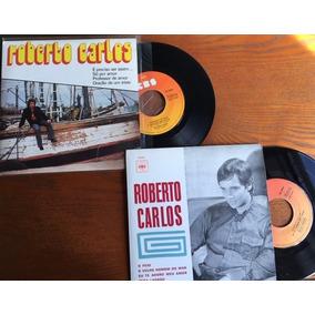 2 Compacto 45 Rpm - Roberto Carlos (portugal) Importado