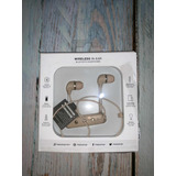 Auriculares Happy Plugs Bluetooth Champagne