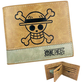 Cartera One Piece Envio Gratis Monedero Billetera Lufy Anime