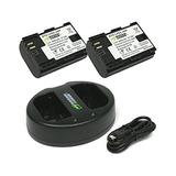 Bateria Wasabi Para Cámara Canon, Kit: 2 Baterias Y Cargador