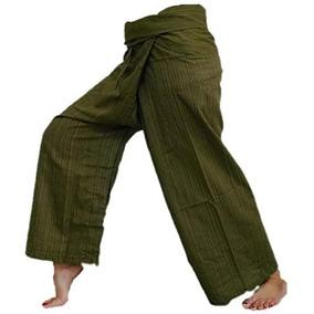Original Thai Pescador Fisher Pantalones De Yoga Pantalones 3832ec1a8f85