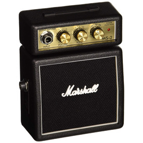 Mini Amplificador De Guitarra Marshall Ms-2 Negro ¡¡¡