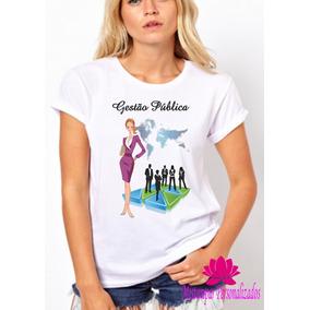 Camiseta Gestao Hospitalar - Camisetas e Blusas para Feminino no ... 81007a8bf1d68