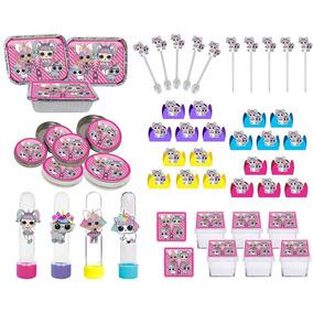 Kit Decorativo Infantil Lol Surprise Unicórnio 178 Peças