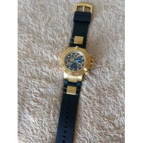Relógio Invicta Subaqua Skeleton Preto/gold
