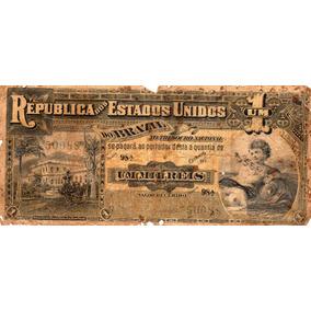 Cédula 1 Mil Réis R 076 Série 98